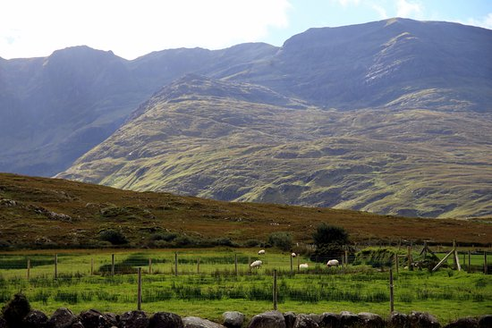 Louisburgh, Ireland: Beatifull nature close to The Lost vally