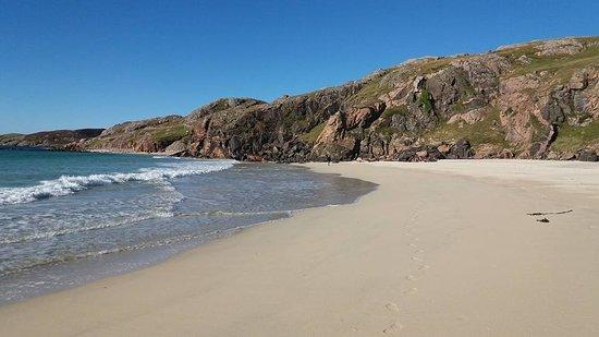 Kinlochbervie, UK: Beautiful remote beach