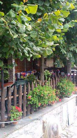 Chiusi della Verna, İtalya: Pergolato