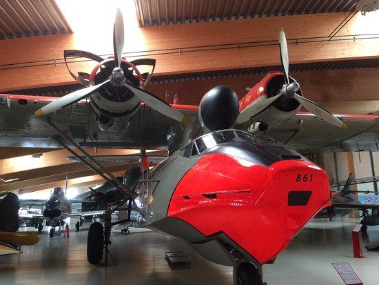 Skjern, Denmark: Beeindruckendes Wasserflugzeug.