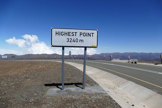 Major Adventures - Day Tours : Markering hoogste punt