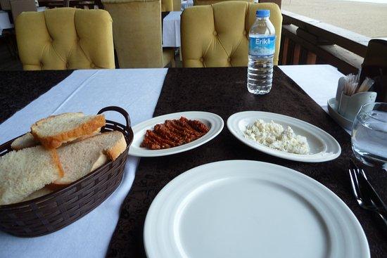 Yomra, Turquia: Vorspeisen