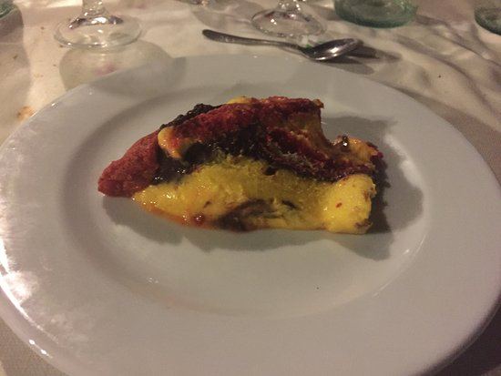 Potenza Picena, Italien: Zuppa inglese