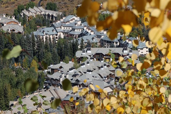 Avon, Colorado: View of our room form the mountain trail!