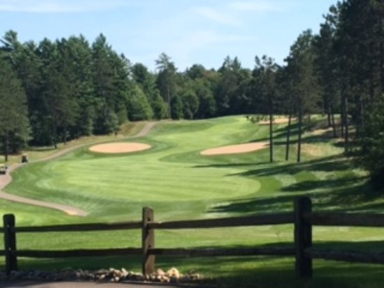 Saint Germain, WI: Number 7 from the tee box