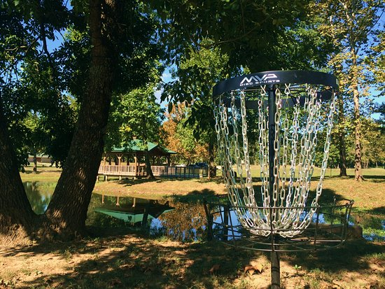 Arkansas : Clinton Disc Golf Course
