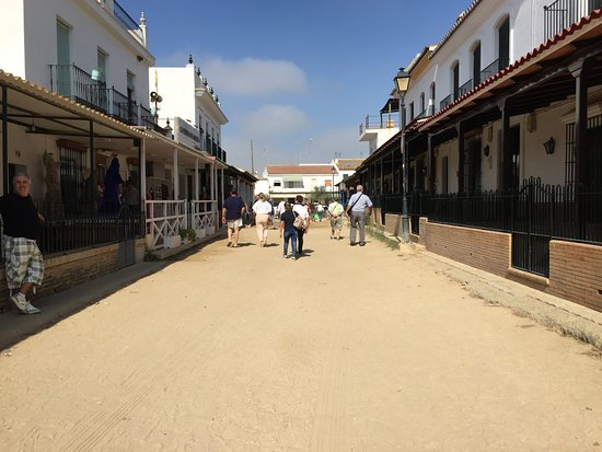 Almonte, España: Straatje