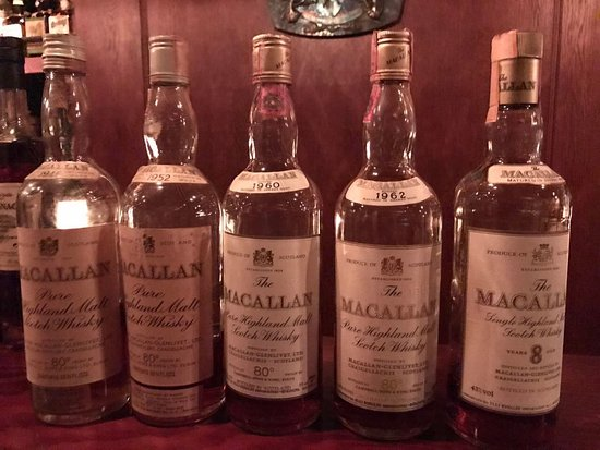 Best old whisky and grappa collection I have ever seen - Picture of