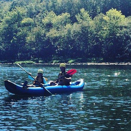 Glen Jean, WV: On the river