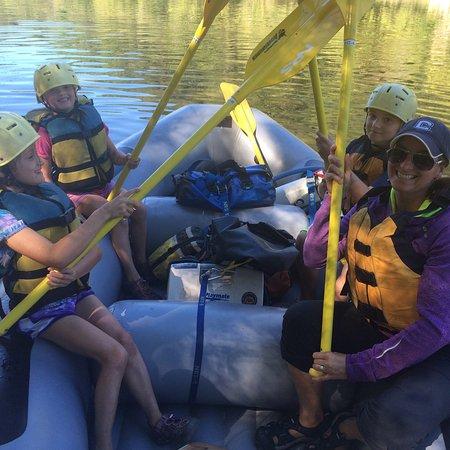 Glen Jean, WV: Paddle High-5