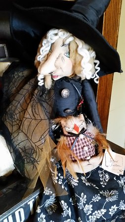 Holderness, NH: Our Gift Shop offers a witch museum