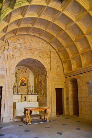 Great Siege of Malta and the Knights of St. John: interior of 16th century chapel of Knights of St John