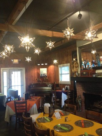 Brevard, Carolina del Norte: Suspended Lighted Stars