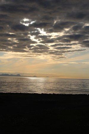 Blonduos, Islandia: Mitternachtsonne