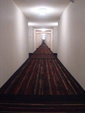 Edgewater Hotel & Casino: moquette originale dans le couloir
