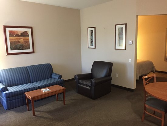 Candlewood Suites: lounge area