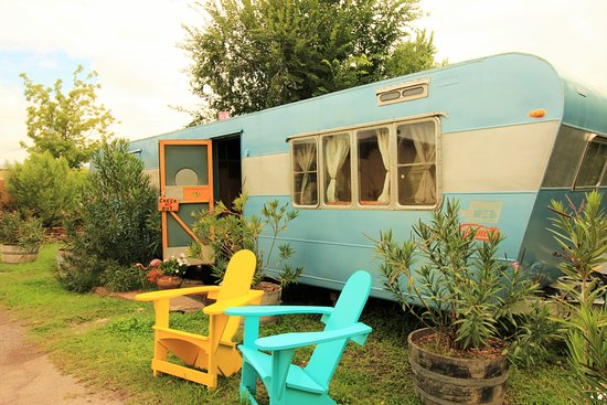 Alpine, TX: Our 1950s Travel Trailer