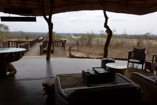 Leopard Hills Private Game Reserve, Güney Afrika: Arrivals terminal