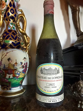 Chateau de Longsard : Ch Longsard, house wine - 1967 vintage for display only