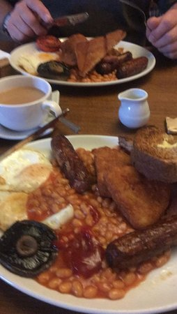 Farrington Gurney, UK: Big Breakfast