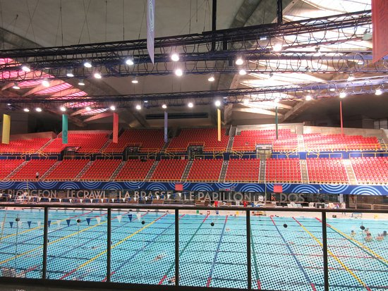 Pool venue at Olympic Park, Montreal