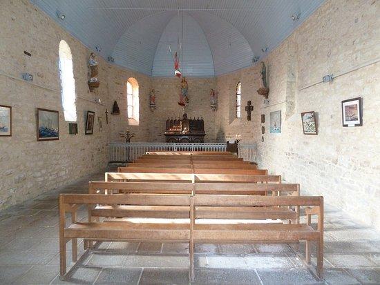 Ile-aux-Moines, Francia: Intérieur petite chapelle
