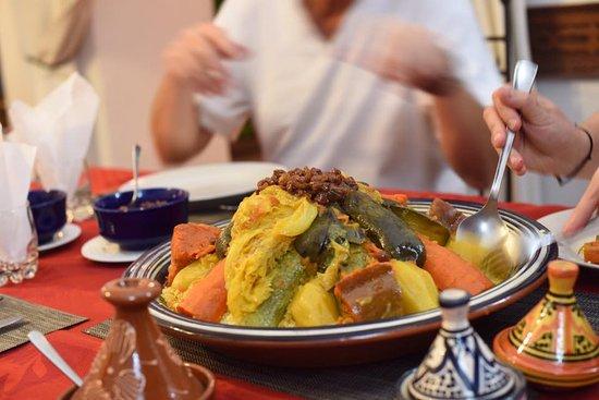 Riad Sekkat: diner marocain