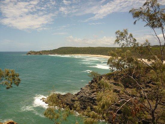 Noosa, Australia: Ausblick vom walewatching-point aus