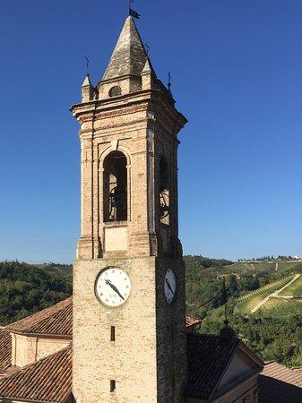 Hotel Castello di Sinio: View from tower window.