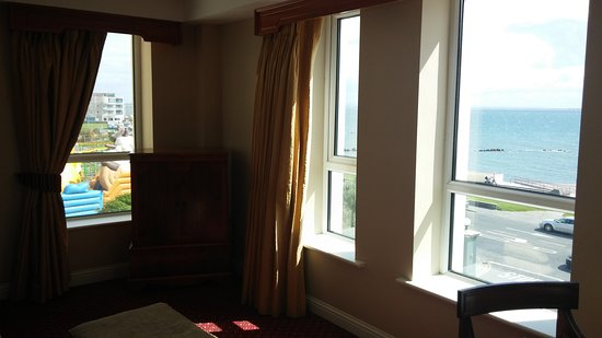 Galway Bay Hotel: View from suite drawing room