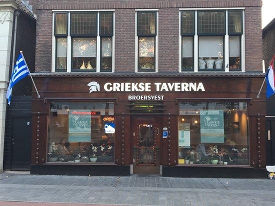 Schiedam, Niederlande: Griekse Taverna Broersvest