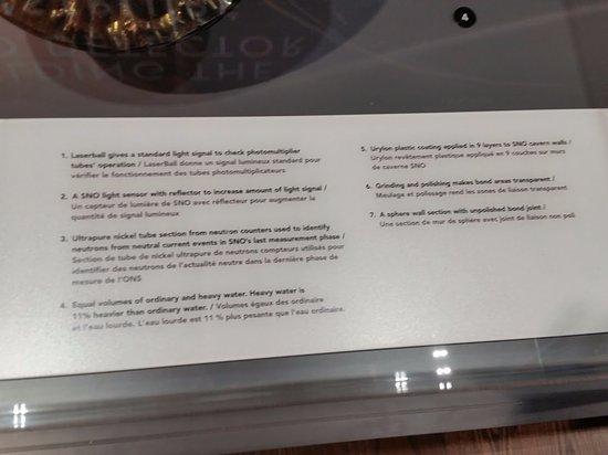 Canada House: Explanation of how the  SNO (Sudbury Neutrino Observatory) neutrino detector works