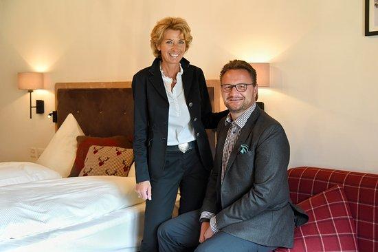 Hotel Steinbock: Anne-Rose und Thomas Walther