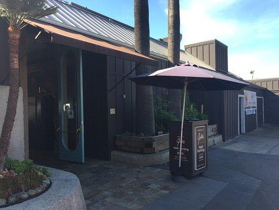 Del Mar, CA: The front entrance