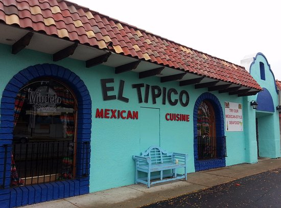 Front Of Entrance To El Tipico Mexican Restaurant