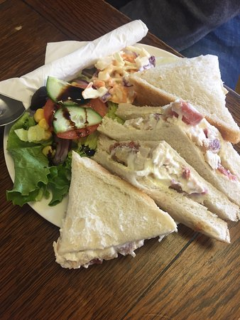 Tarporley, UK: Delicious lunch at Tilly's