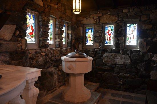 Kennebunkport, ME: The baptismal