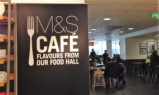 Marks and Spencers Cafe: Entrance to M&S Cafe, Donegall Street, Belfast