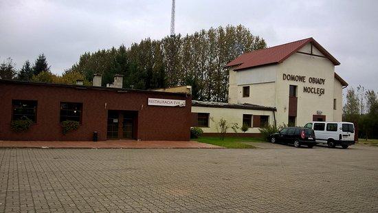 Western Pomerania Province, Poland: Widok od ulicy ..