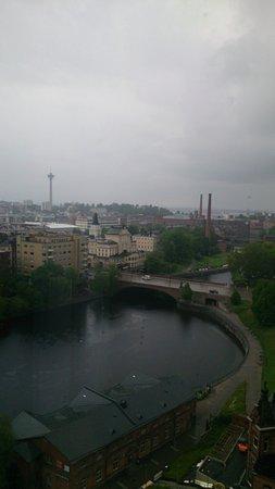 Original Sokos Hotel Ilves: Näkymä huoneesta koskelle päin