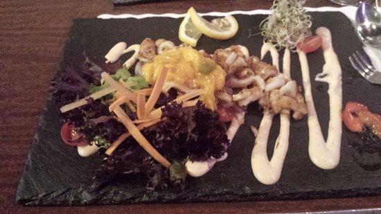 Owen Sound, Canadá: fabulous calamari plate