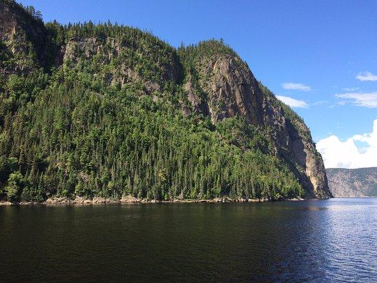 La Baie, Canadá: le fjord aux abords de l'Anse Saint Jean