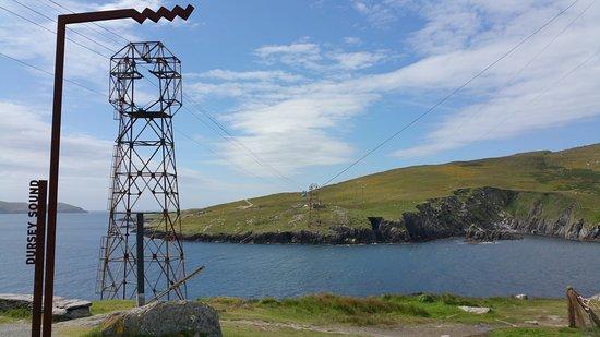 Crookhaven, أيرلندا: le téléphérique