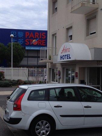 Hotel Arena Montpellier : para mejor localización y no caer en la trampa