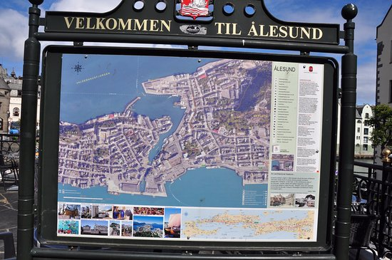 Map of Alesund Picture of Alesund More og Romsdal TripAdvisor