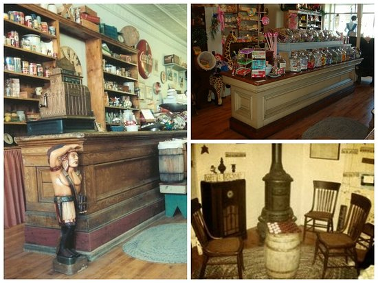 Black River Falls, WI: Store collage