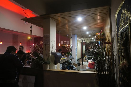 Inside The Restaurant Picture Of Champa Garden San Francisco Tripadvisor