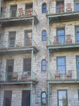 Mohonk Mountain House: So many balconies!