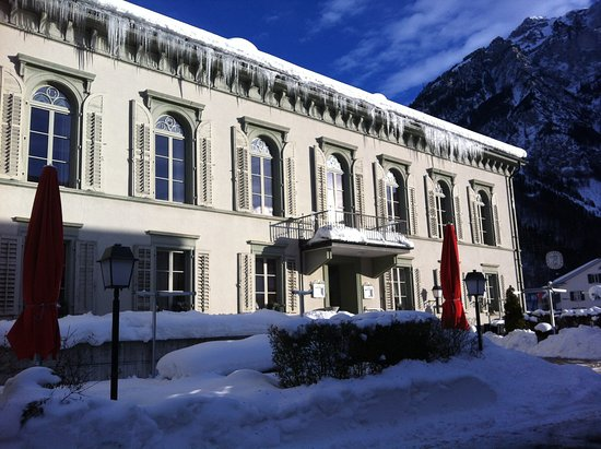 Glarus, Suisse : Im Winter
