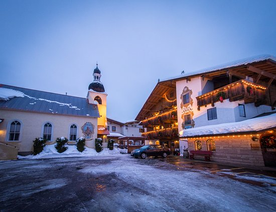 Hotel Pension Anna: Winter Wonderland